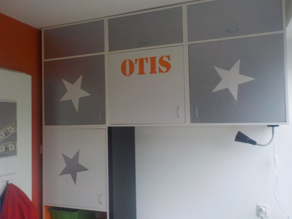 Slaapkamer van Otis verbouwen door klusvrouw Nicole Prins