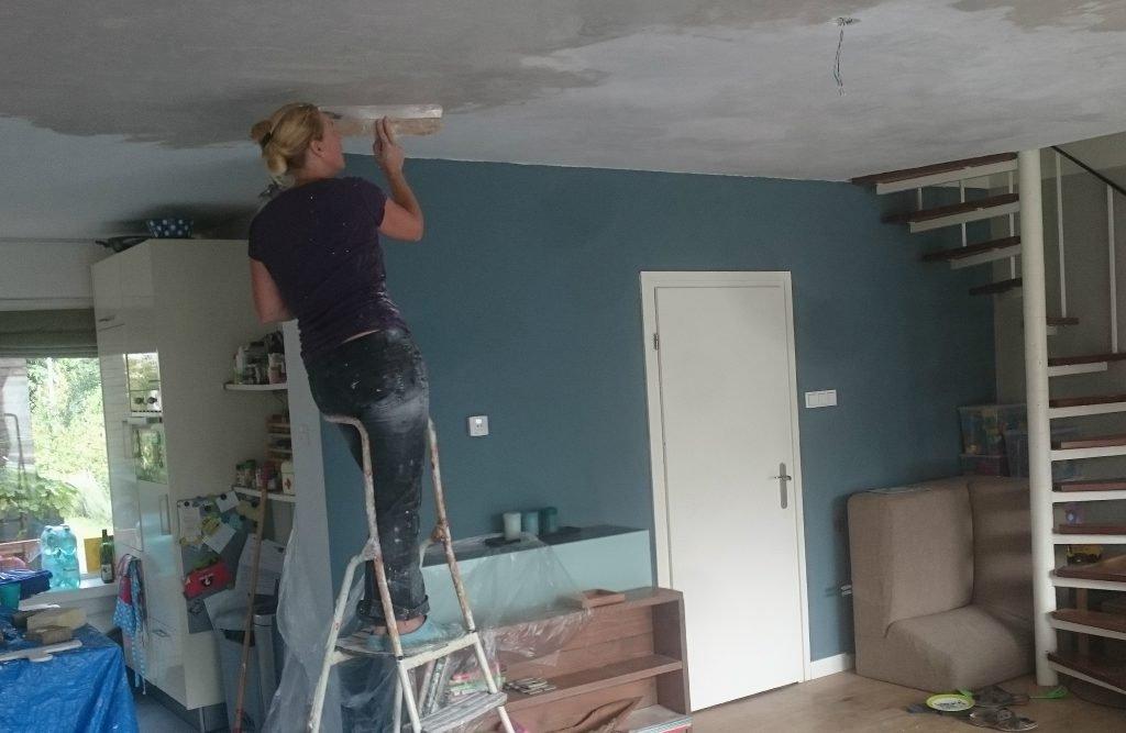 Nicole Prins plafond stucen