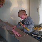 Boekenkast bouwen in slaapkamer