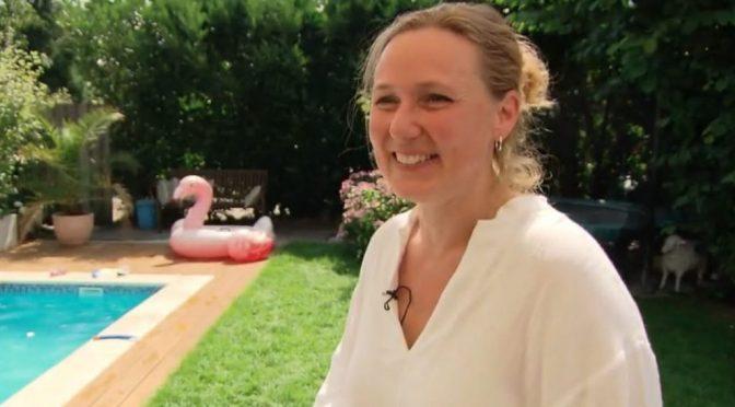 Nicole bouwt een zwembad in de media